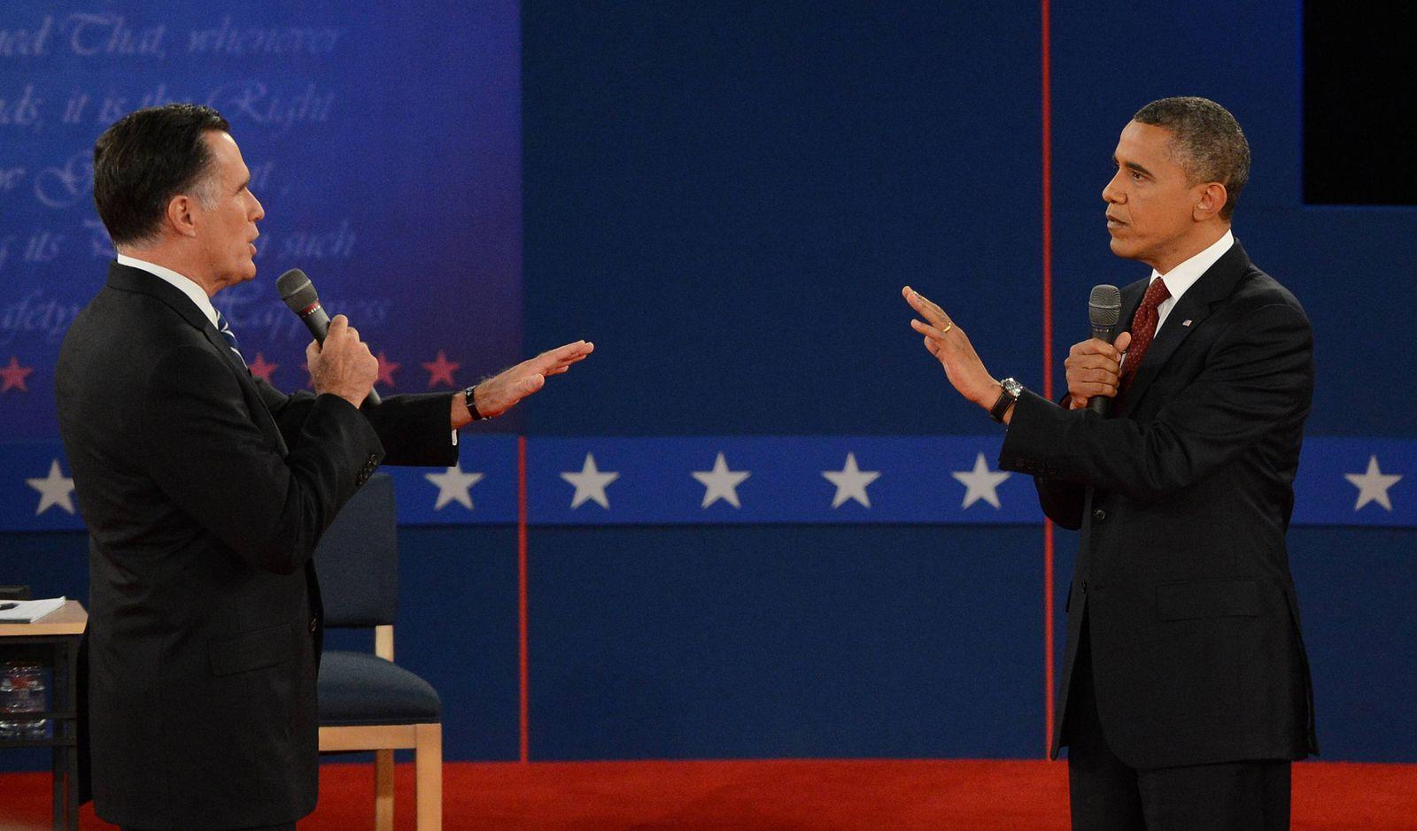 2012 Obama vs romney