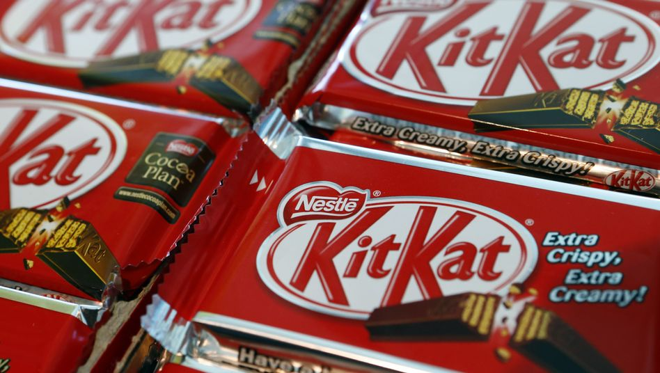 Kitkat-Riegel