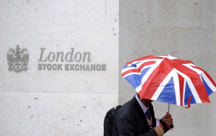 Börse in London: Stürmische Zeiten