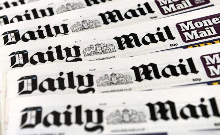"""Daily Mail"" am Kiosk"