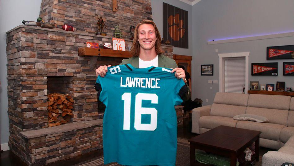 Trevor Lawrence erfuhr zu Hause von der Entscheidung