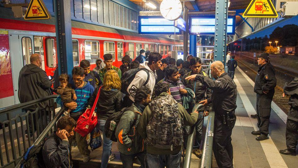 Bahnhof in Flensburg: Großzügige Fahrkartenkontrolle