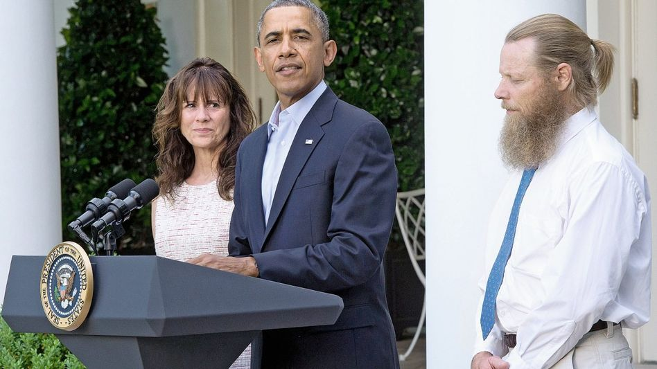Eltern Bergdahl mit Präsident Obama: »Wir holen einen Soldaten in Gefangenschaft zurück, egal wie die Umstände ausgesehen haben mögen«