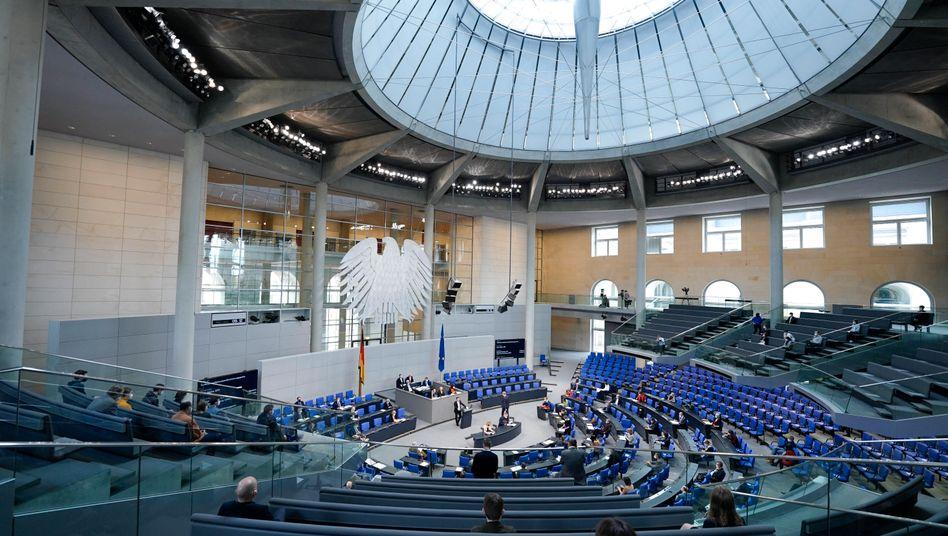 Der Bundestag: Plötzlich wurde nicht nur die Stimmung kühl