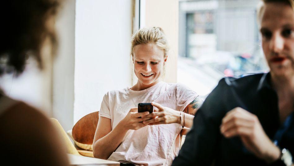 Spielerei und Jobsuche liegen auf dem Smartphone oft nah beieinander