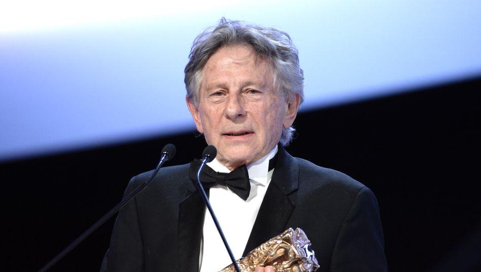 Roman Polański mit César-Trophäe (Archivbild von 2014)