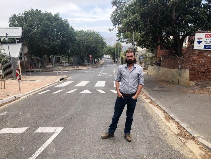 SPIEGEL-Korrespondent Schaap in Kapstadt