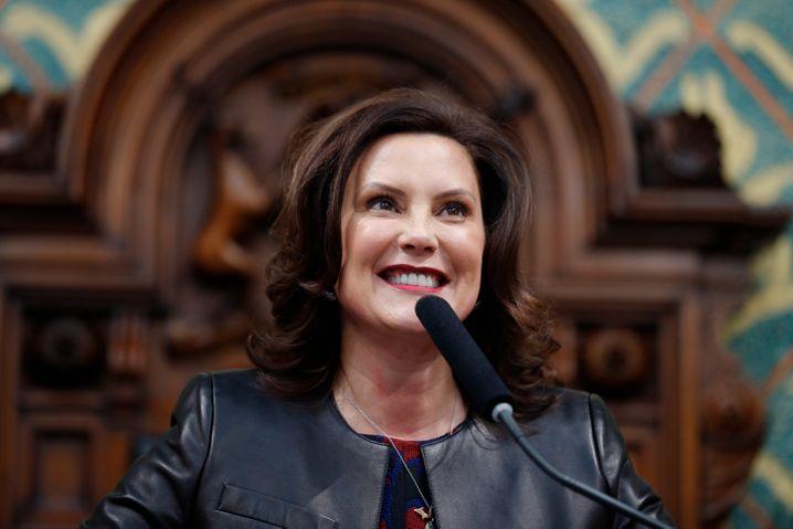 Michigans Gouverneurin Gretchen Whitmer