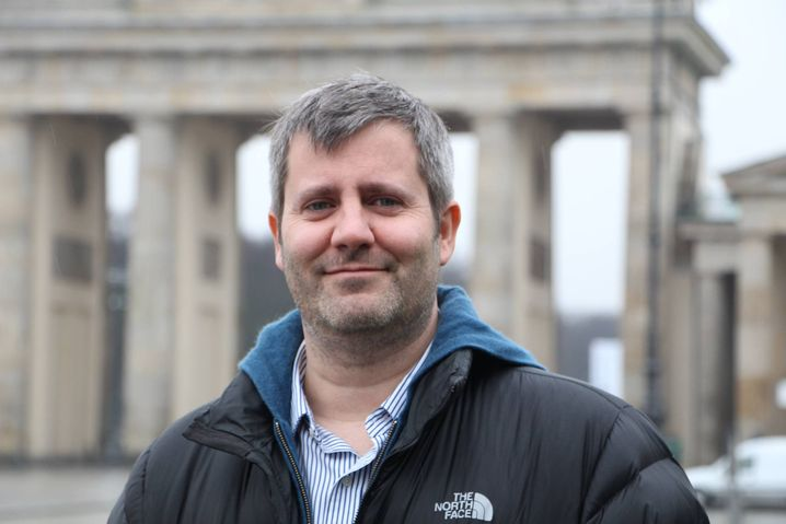 Phil Howard, director of the Oxford Internet Institute (in Berlin in January 2015)