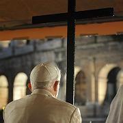 Papst Benedikt in Rom (im März 2008): Regelmäßige Kirchgänger leben statistisch gesehen sieben Jahre länger