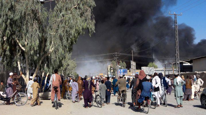 Der Eroberungsfeldzug der Taliban