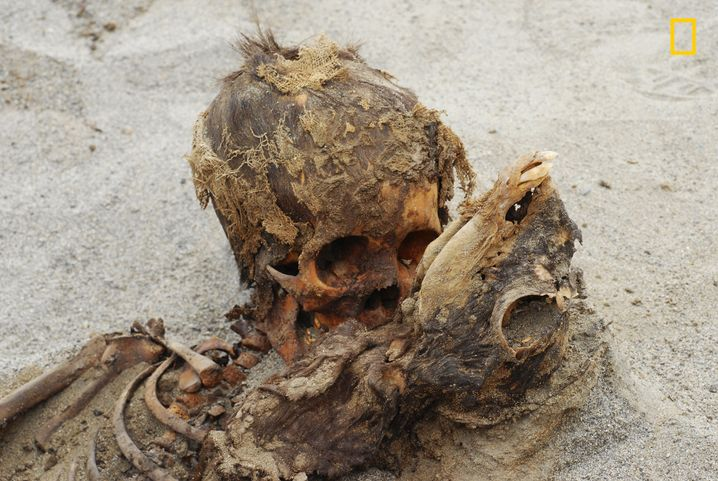 Peru: Archäologen entdecken Massengrab mit geopferten Kindern