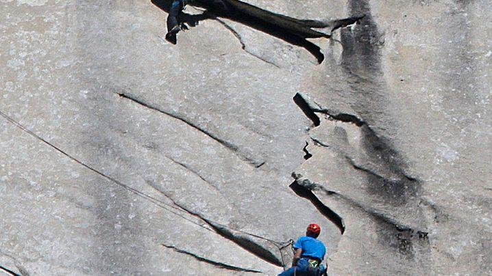 El Capitan: Rekordkletterer erreichen den Gipfel