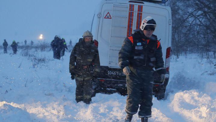 Saratov-Unglück: Absturz bei Moskau