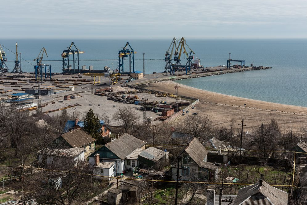 The Port of Mariupol