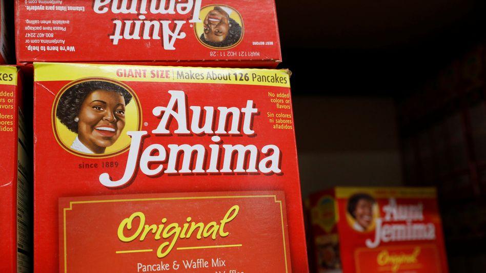 """""""Aunt-Jamina""""-Backmischung: Im Stil einer freundlichen Dienerin"""