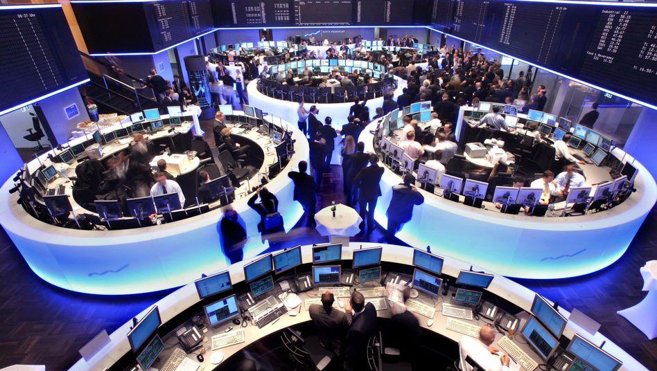 Börse in Frankfurt: Fahnder ermitteln wegen mutmaßlicher Kursmanipulation