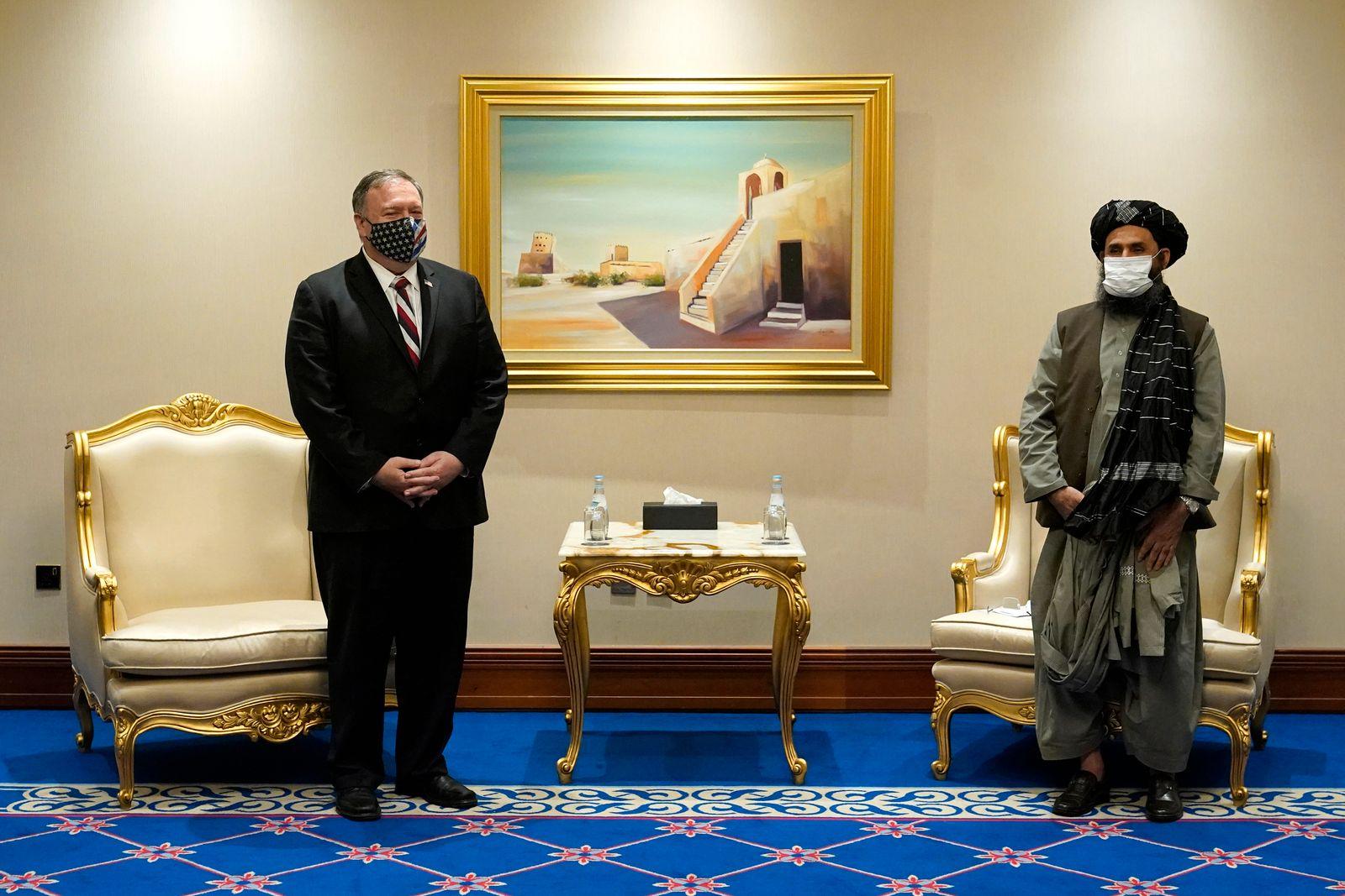 US-Außenminister Pompeo in Katar