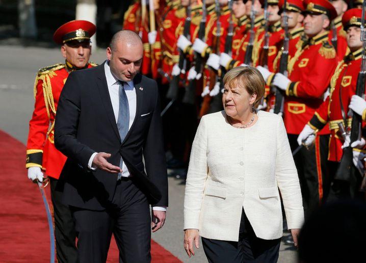 Angela Merkel, Mamuka Bachtadse