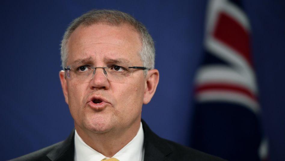 Australiens Premier Scott Morrison (Archivbild)