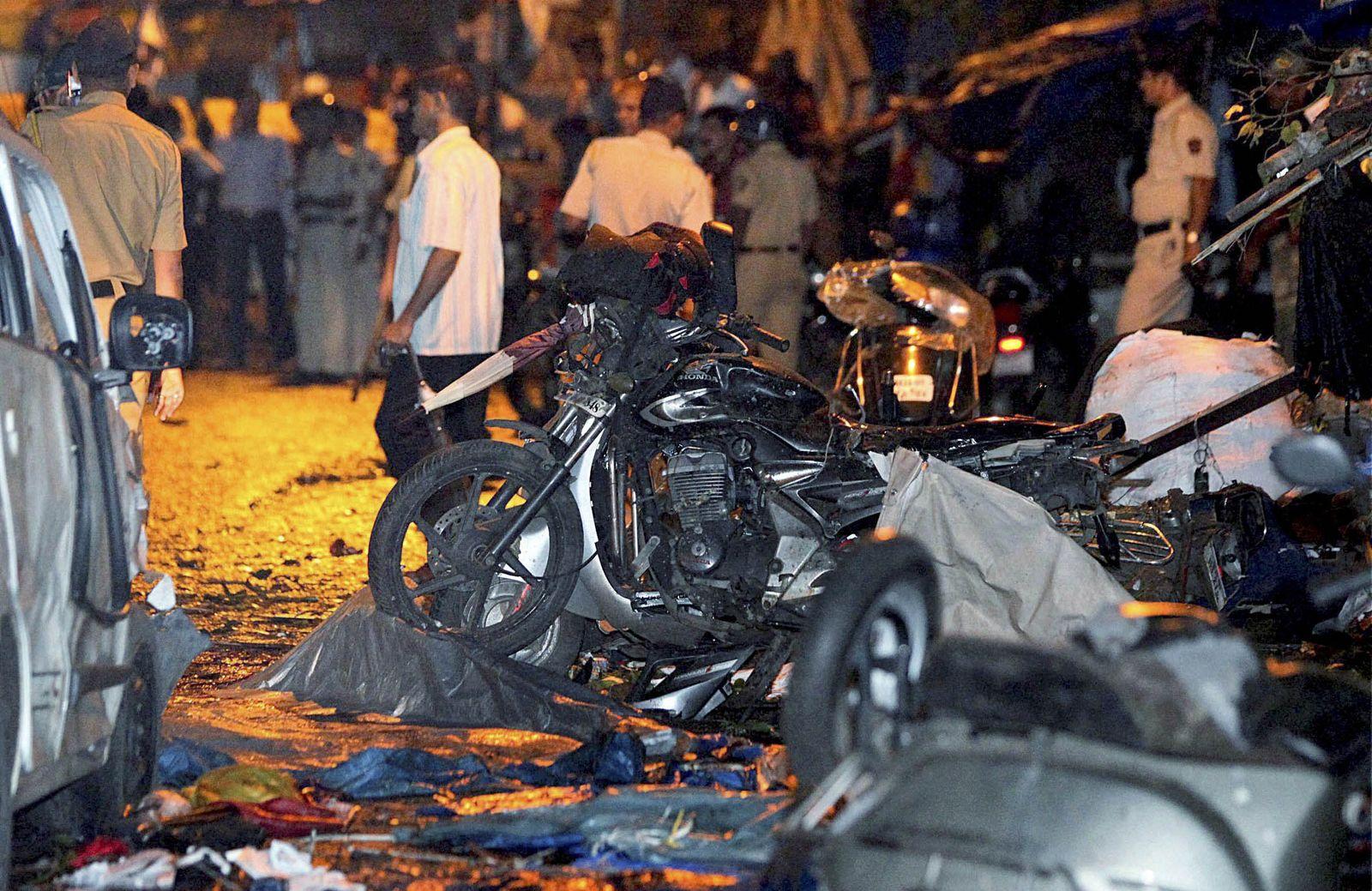 Indien/ Mumbai/ Anschlag