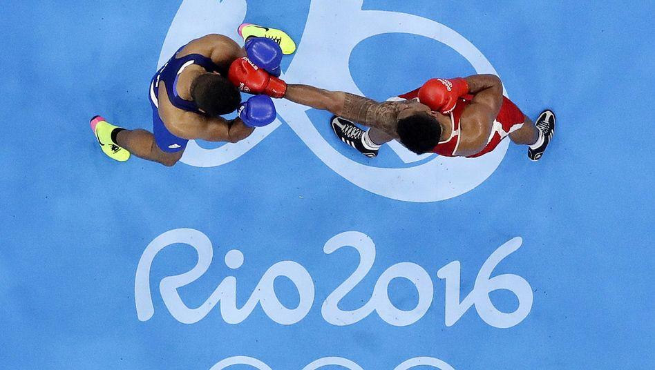 Olympisches Boxturnier in Rio de Janeiro 2016
