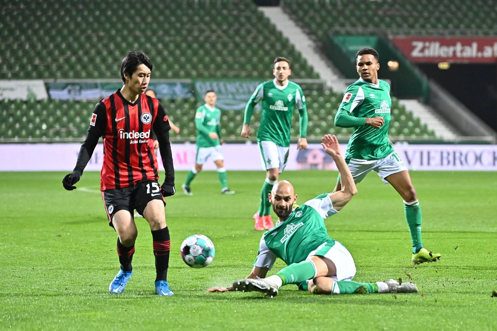 GER, SV Werder Bremen vs Eintracht Frankfurt / 26.02.2021, wohninvest Weserstadion,Bremen, GER, GER, SV Werder Bremen v