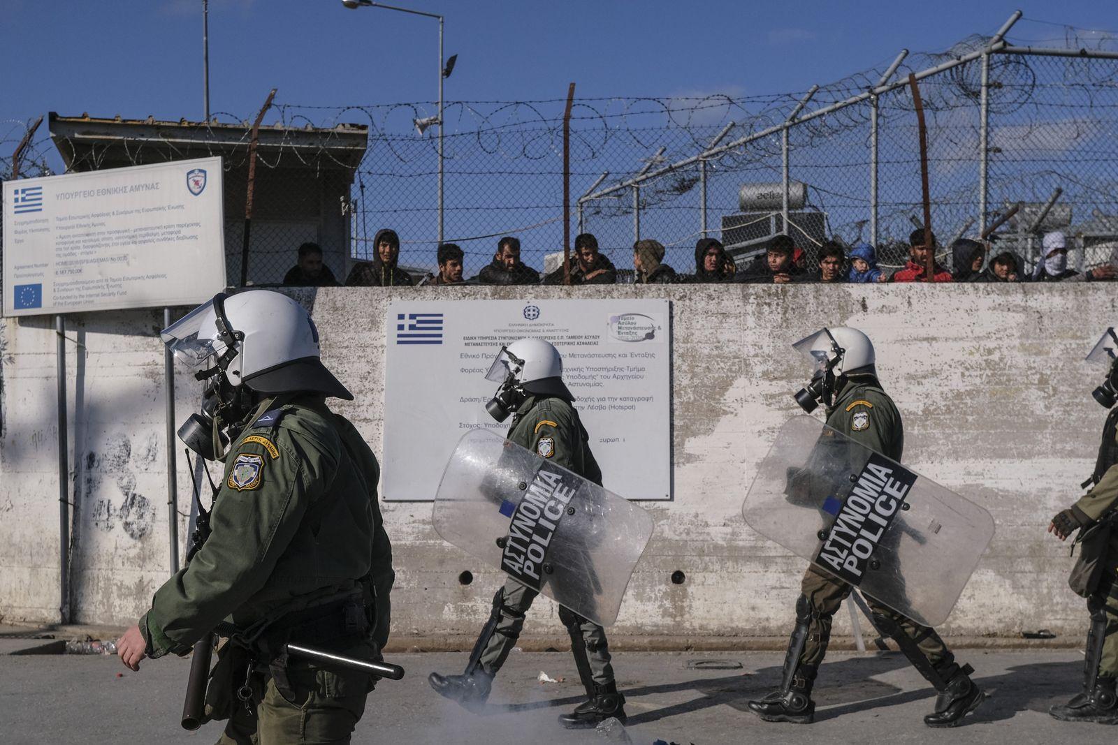 Greece Migrant Death