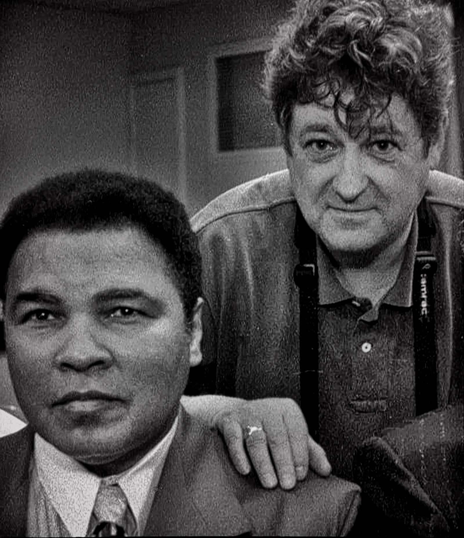 Muhammad Ali and Photographer Michael Brennan.