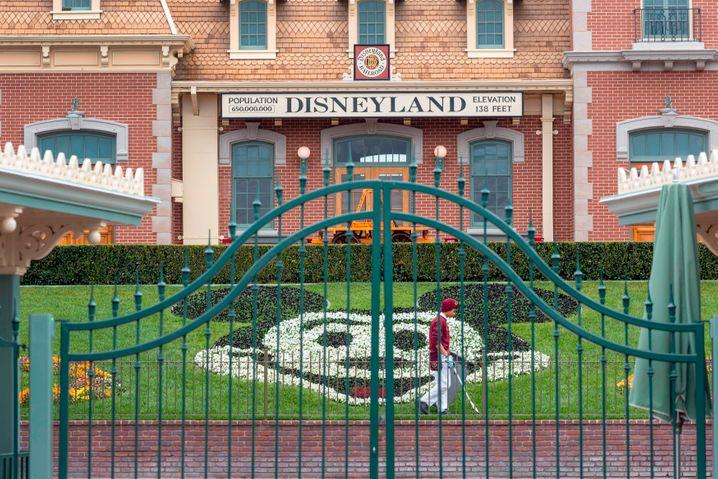 Seit März geschlossen: Disneyland