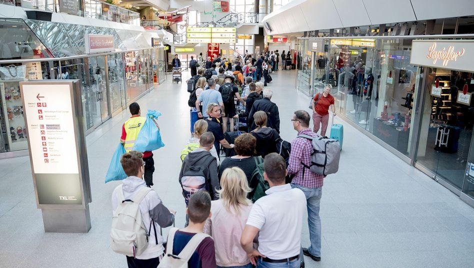 Flughafenszene: Ungelebtes Leben