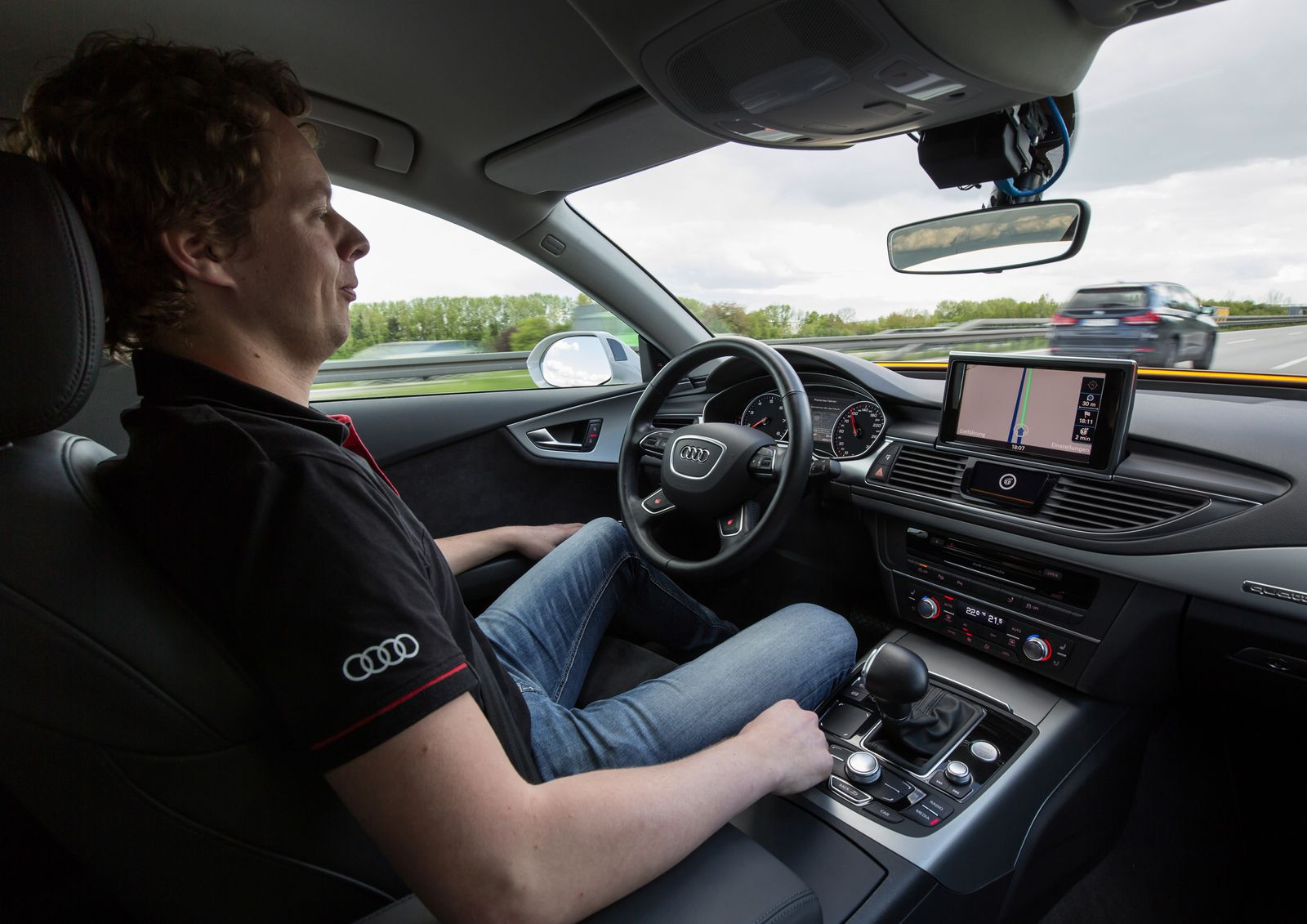 Autonomes Fahren / Audi