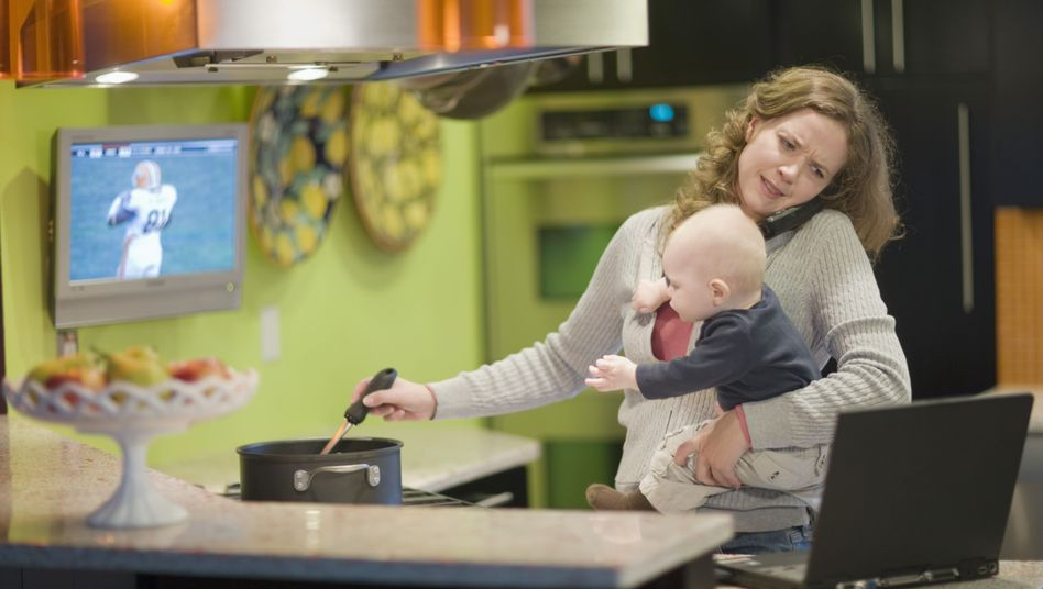 Vielbeschäftigte Mutter: Es ist immer irgendwas
