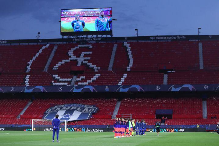 Fu??ball in Sevilla nur ohne Sevilla