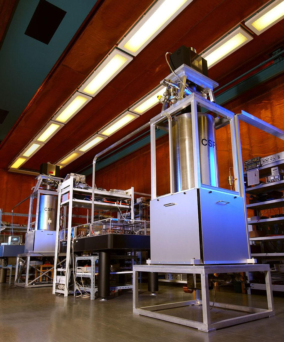 Atomuhr CSF2 / PTB / Braunschweig