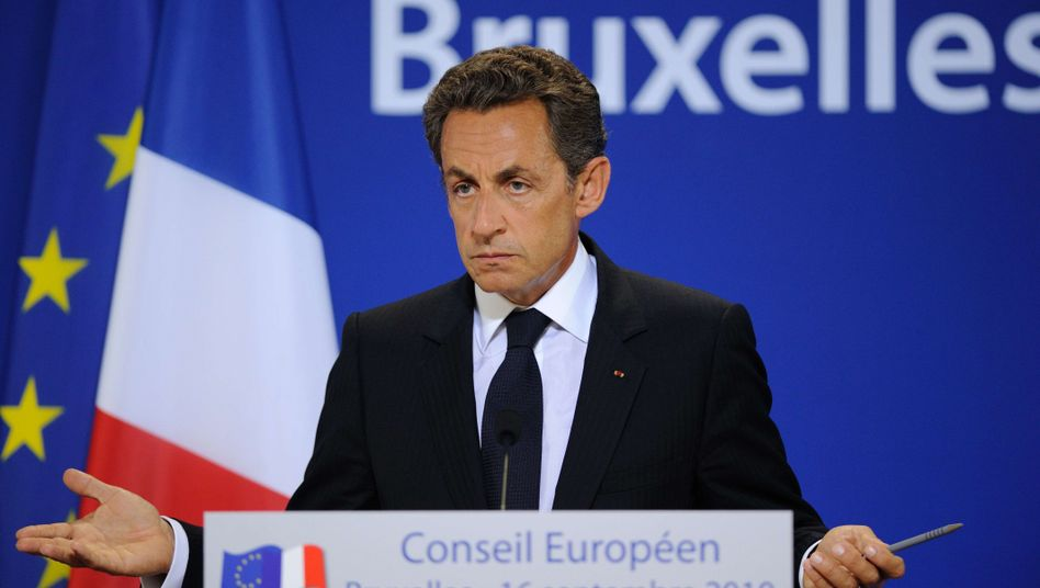 French President Nicolas Sarkozy found himself with few friends at Thursday's EU summit.