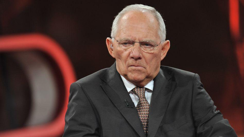 """Finanzminister Schäuble: """"Wir sollten jetzt schauen, wie die Gespräche laufen"""""""