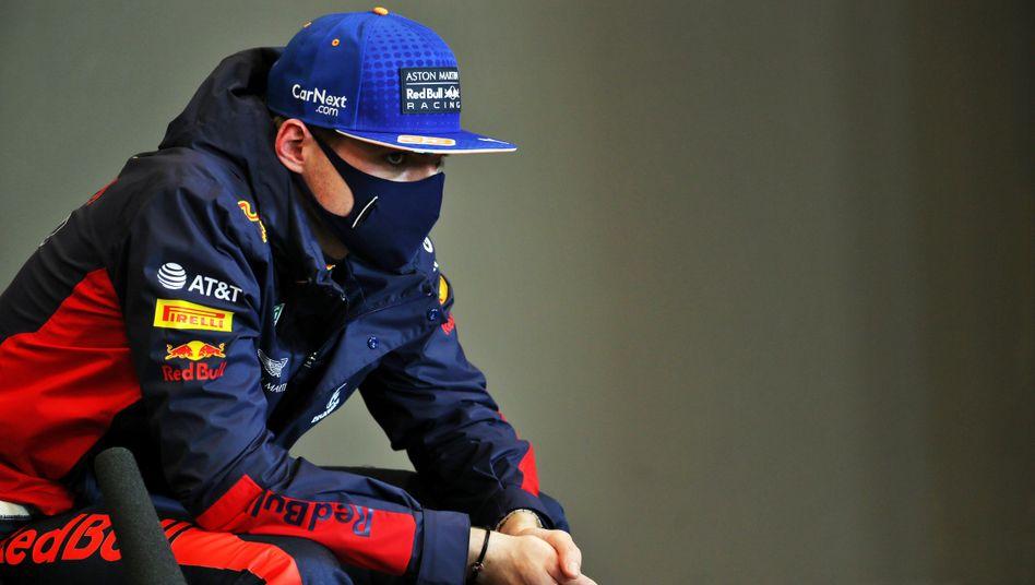 """Max Verstappen nach dem Rennen: """"Natürlich wäre Platz zwei ein tolles Resultat gewesen, aber es sollte wohl nicht so sein"""""""