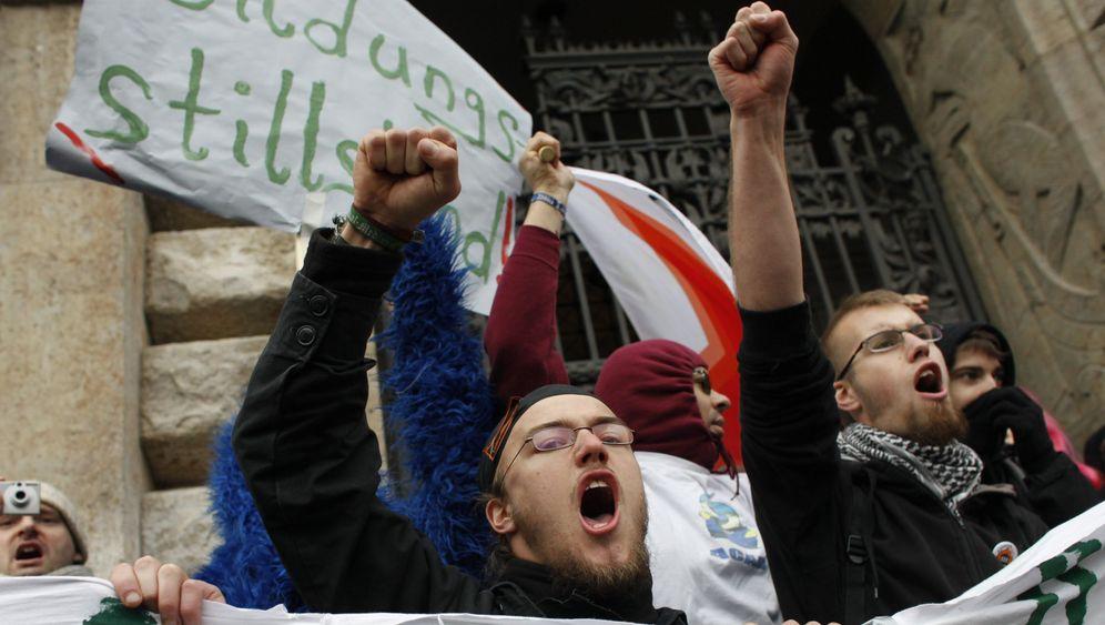 """Studentenproteste: """"Wir sind das Hackfleisch in der Bolognese"""""""