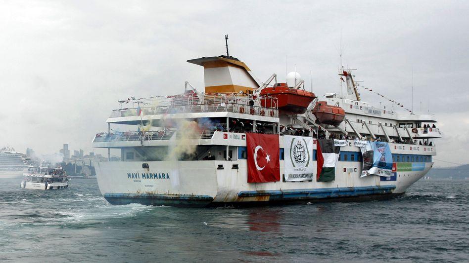 """Aktivisten-Schiff """"Mavi Marmara"""": Neun Türken starben beim Angriff israelischer Soldaten"""