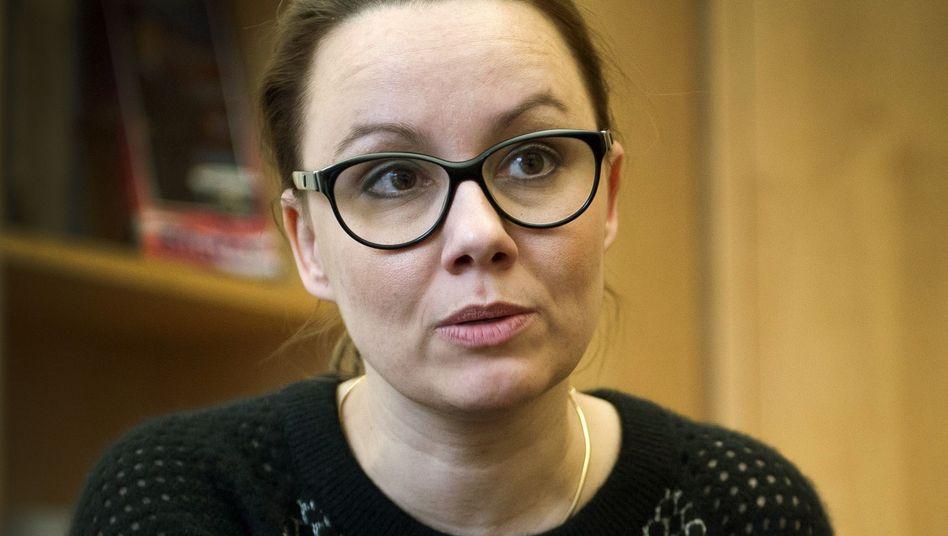SPD-Abgeordnete Michelle Müntefering