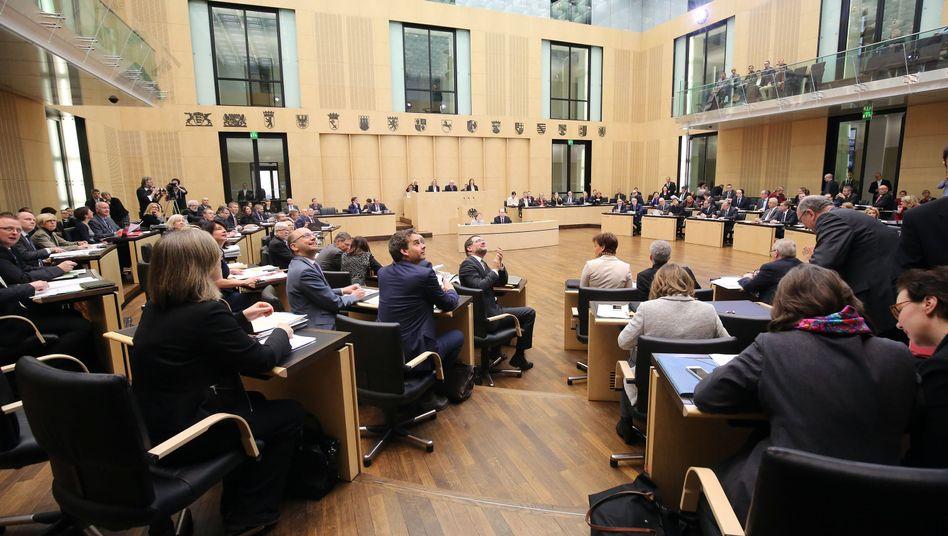 Eine Sitzung des Bundesrats