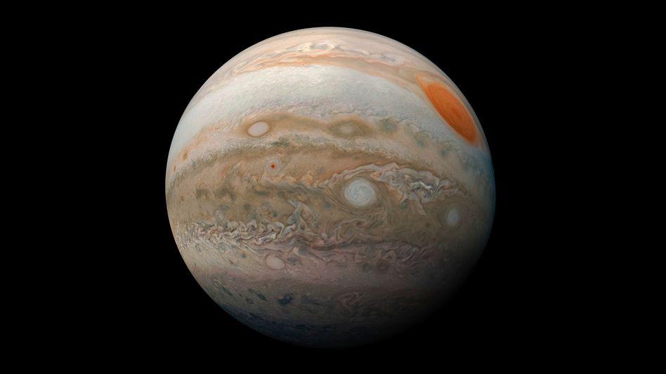 Gasriese Jupiter: Exoplanet mit 14-facher Masse