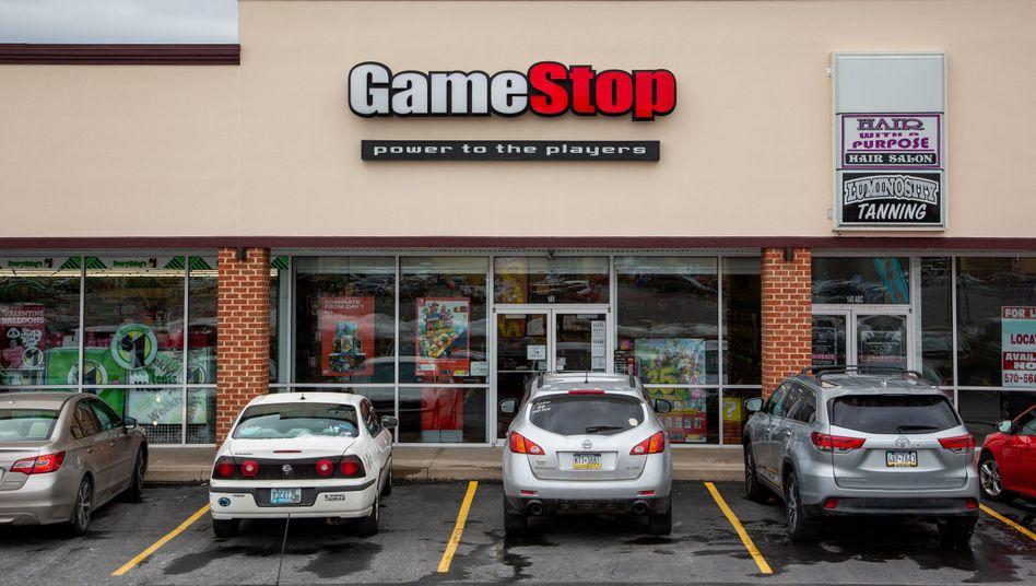 GameStop, erst ein strauchelndes Unternehmen, dann plötzlich im Zentrum eines Börsenhypes