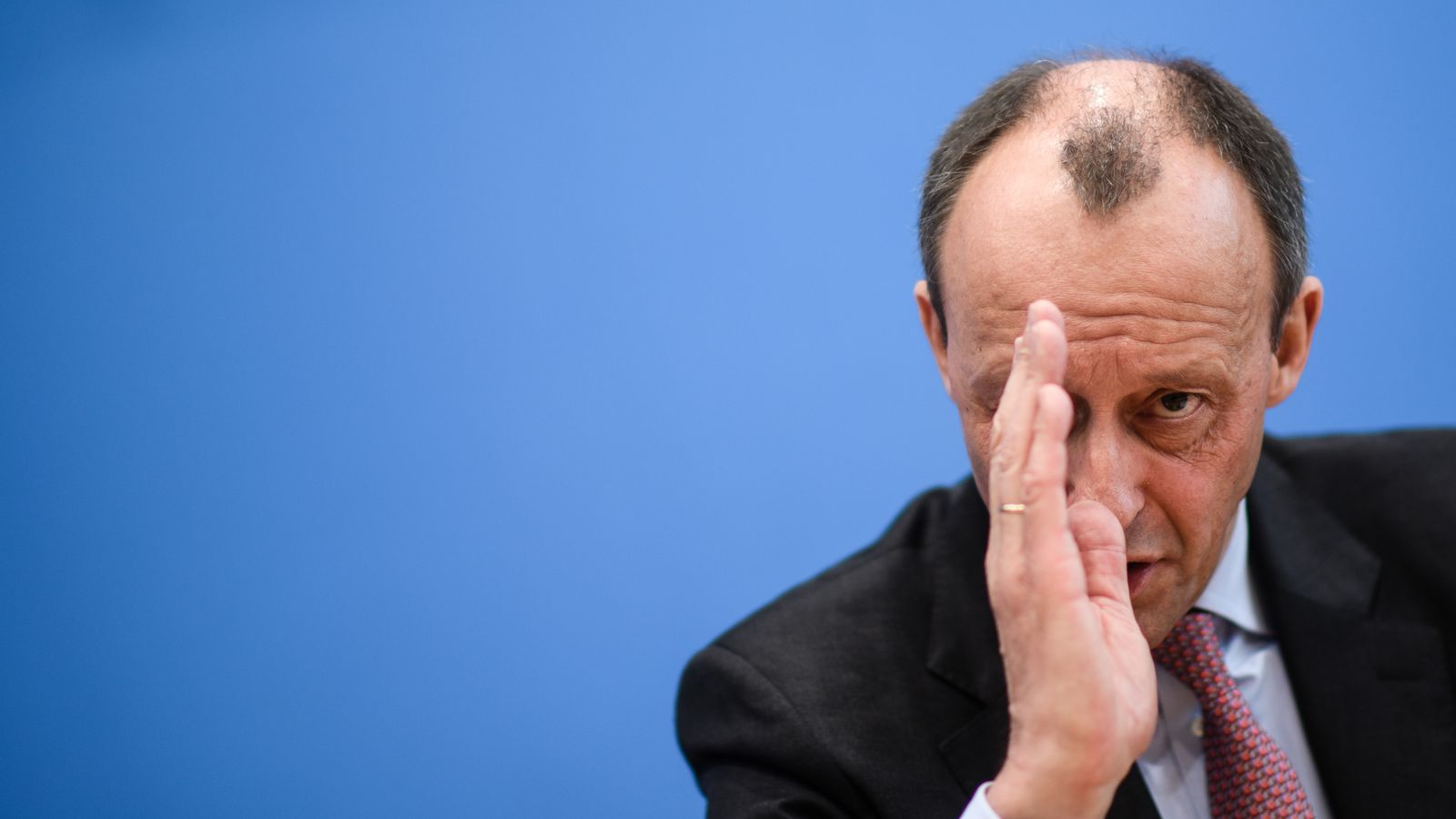 Friedrich Merz announces his candidacy for CDU party leadership, Berlin, Germany - 25 Feb 2020