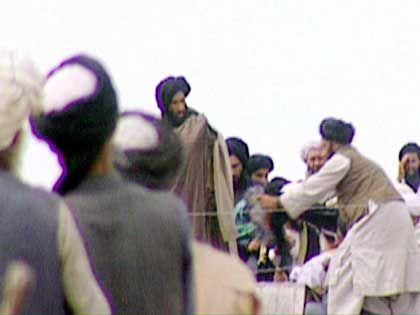 Eines von zwei existierenden Fotos des Taliban-Führers