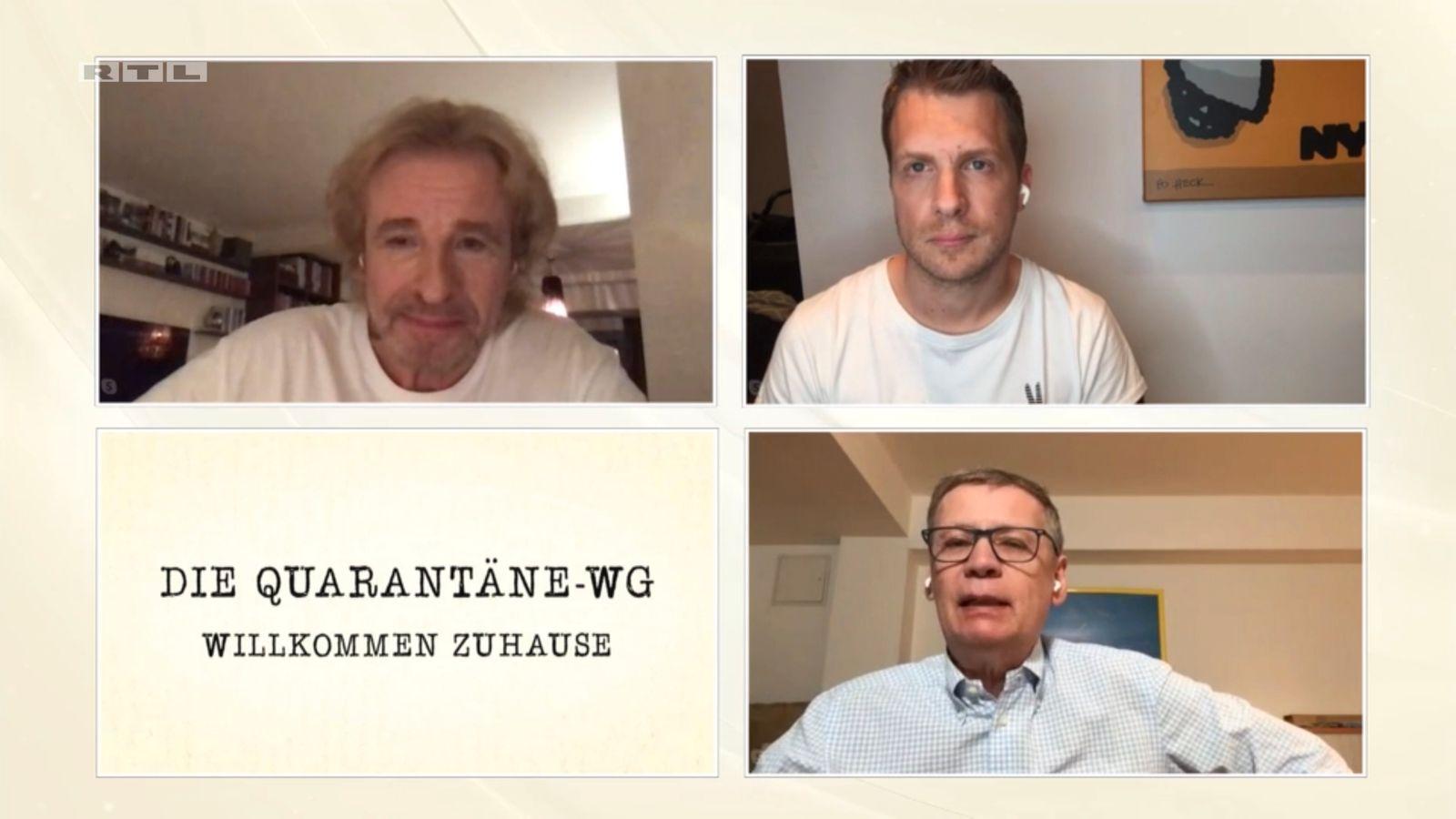 Die Quarantäne-WG / Jauch Pocher Gottschalk