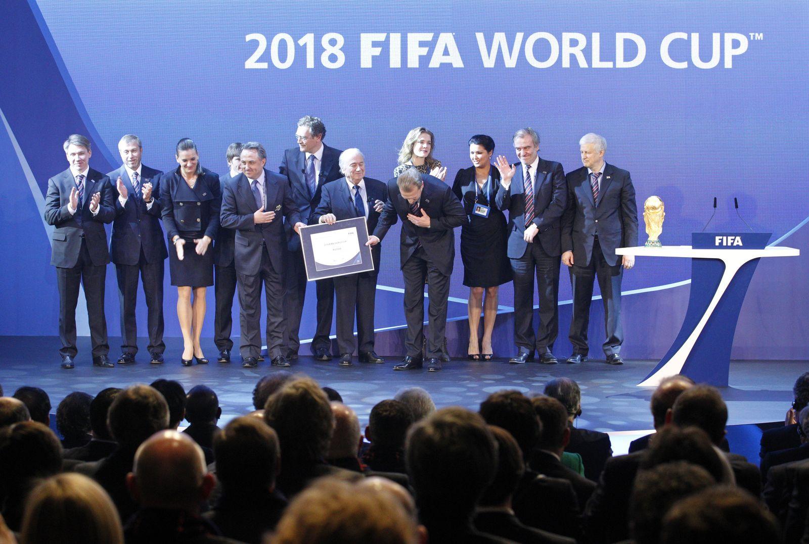 WM-Vergabe Russland 2018