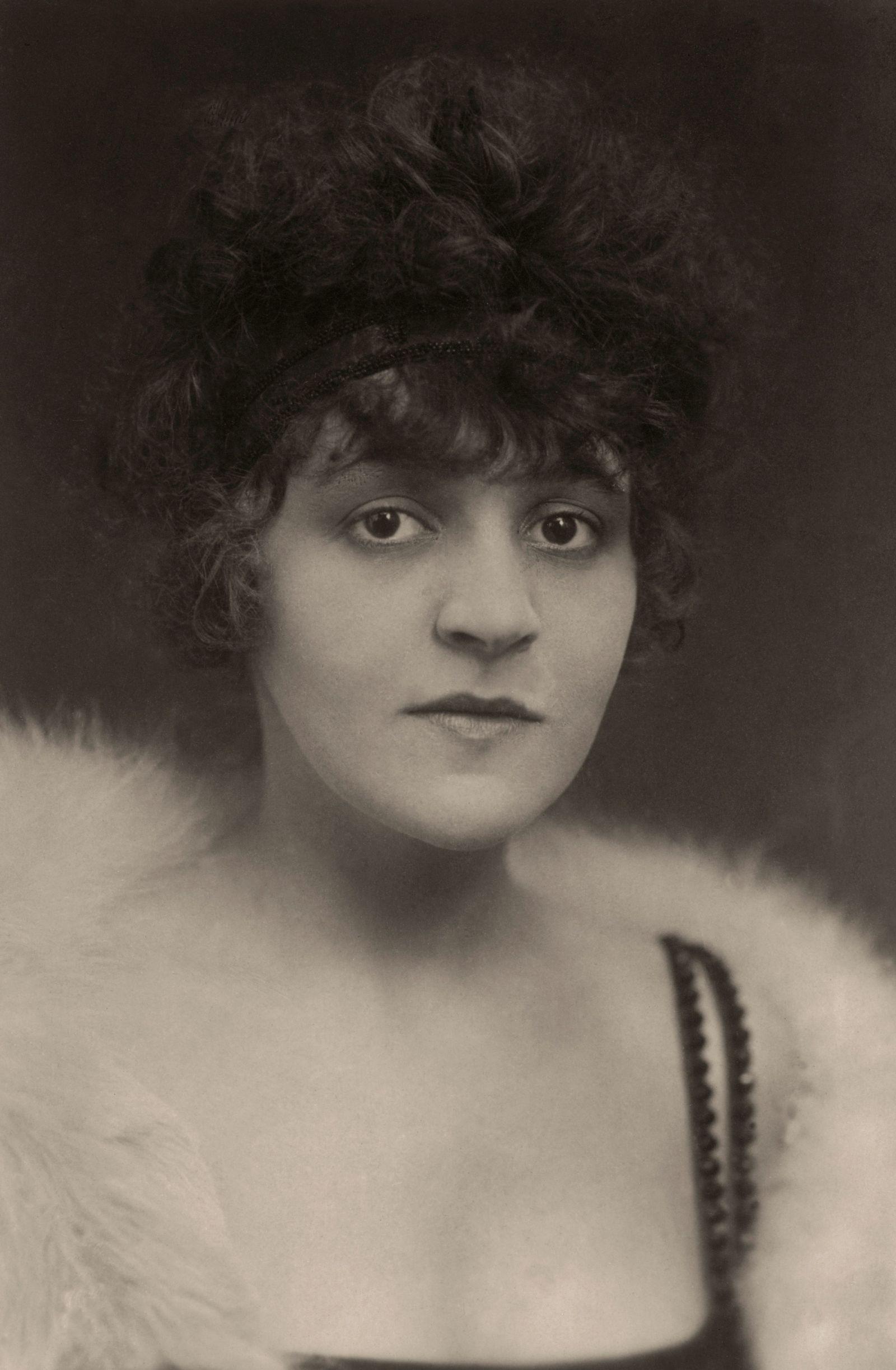 Anita Berber, Porträtfoto um 1920