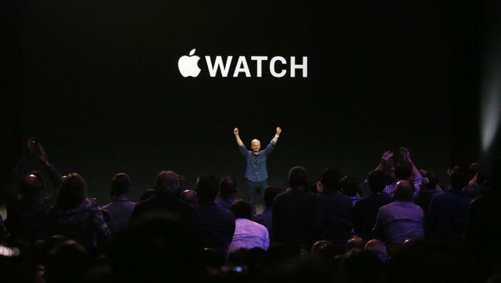 Präsentation: Die Apple Watch ist zu männlich
